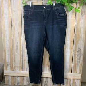 Lane Bryant Skinny Stretch Size 20 Regular Jeans